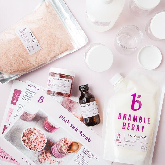 Pink Salt Scrub Kit