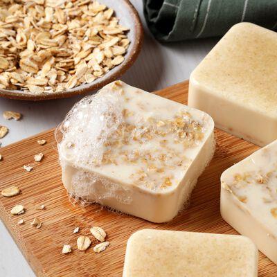 Gentle Oatmeal Soap Project