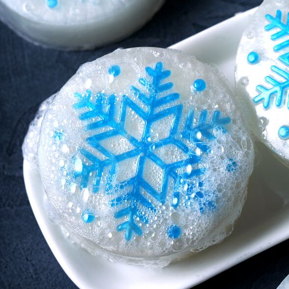 Snowflake Soap Kit