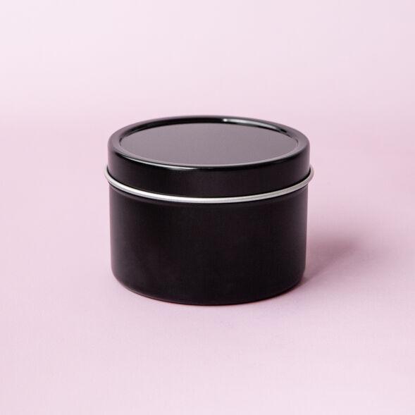Black Candle Tins