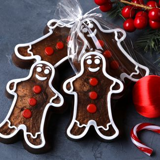 Gingerbread Man Soap Project