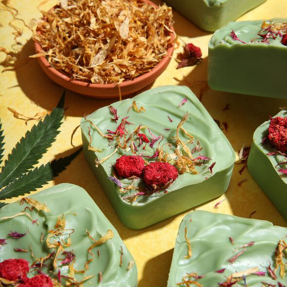 Hemp and Wildflower Soap Project