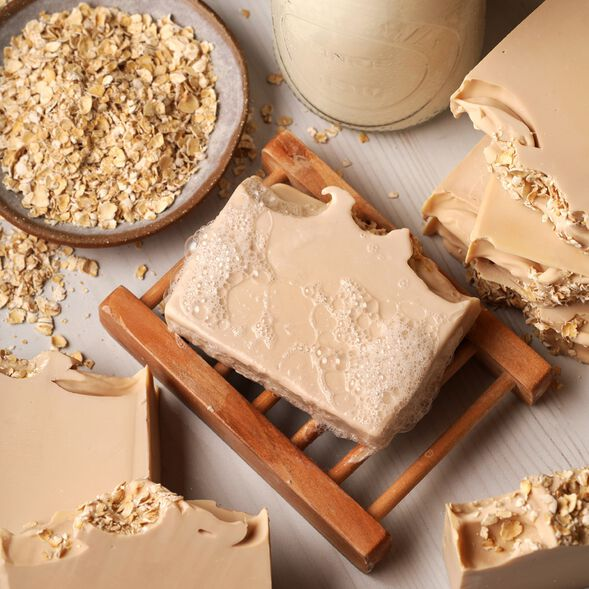 Goat Milk and Oats Soap Kit