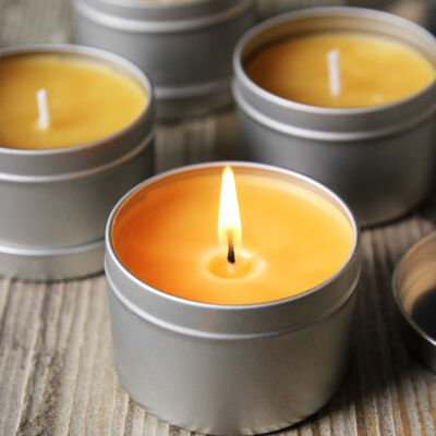 Bourbon and Beeswax Candles Project
