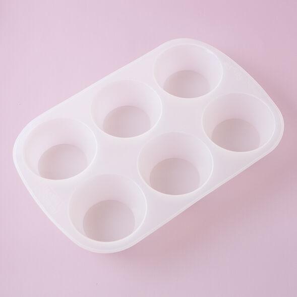 Round - cupcake Silicone Mold