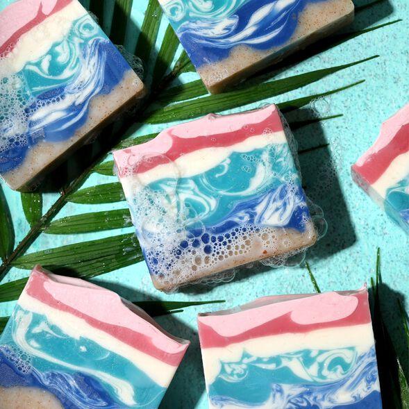 Beach Paradise Soap Project
