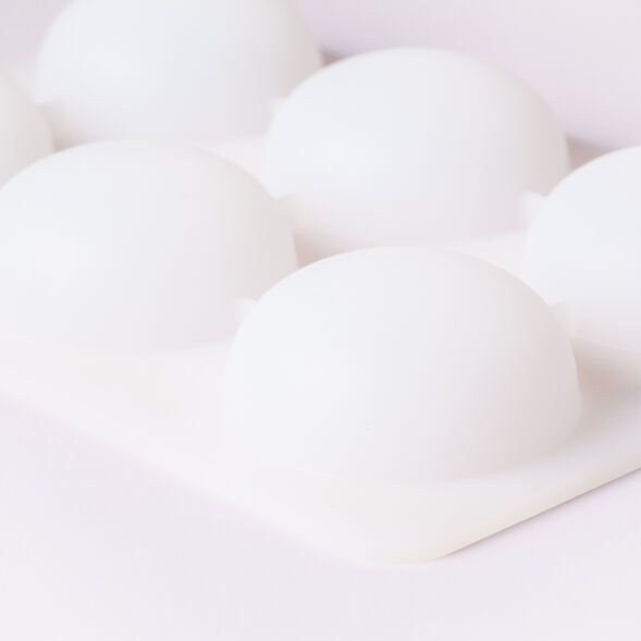 6 Cavity Silicone Dome Mold