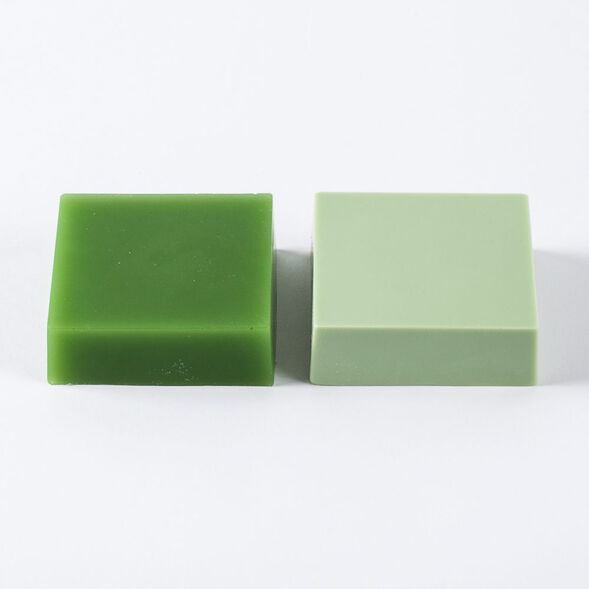 Green Chrome Color Block - 1 Block