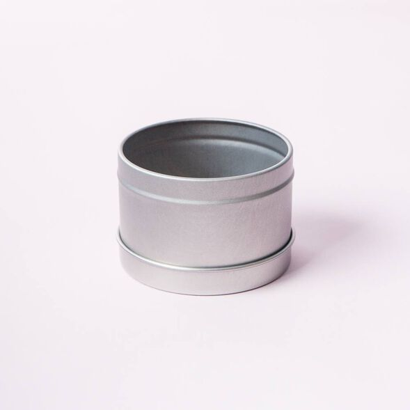 Silver Candle Tins - 1 tin