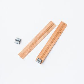Wide Wooden Wicks - 10 Wicks