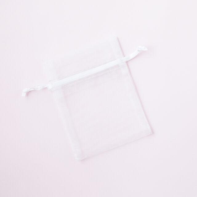 White Organza Bag Small