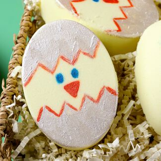 Easter Chick Bath Bomb Project