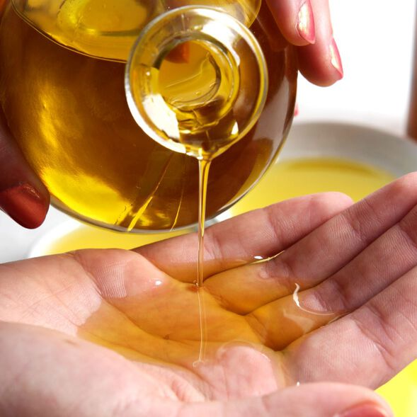 Essential Oil Massage Oil Project