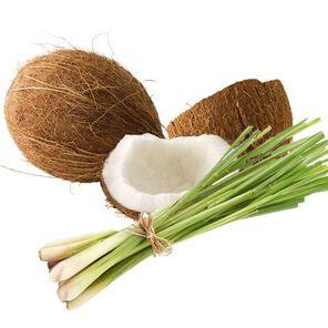 Coconut Lemongrass Fragrance Oil - 2 oz