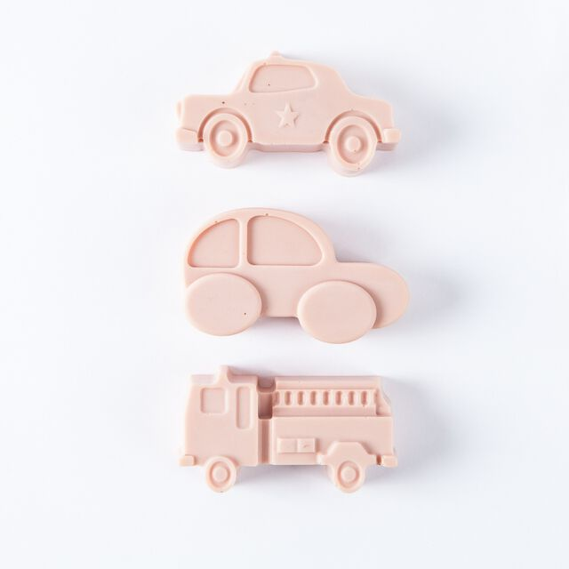 6 Cavity Kids Vehicles Silicone Mold