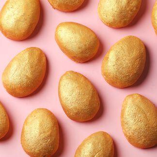 Golden Egg Bath Truffle Project