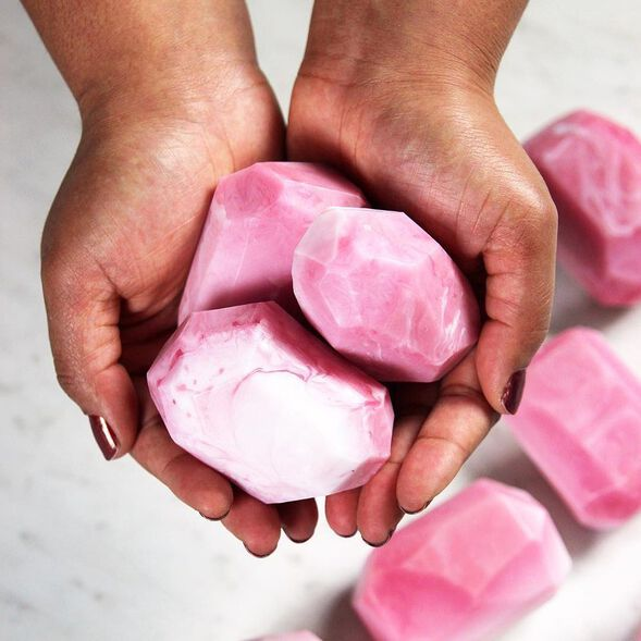 Rose Quartz Soap Project