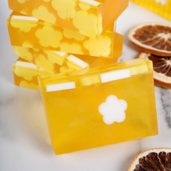 Uplifting Orange Soap Project