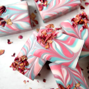 Wild Rose Soap Project