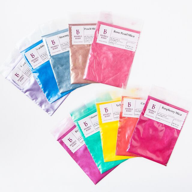 Brights and Pastel Micas Sampler Pack