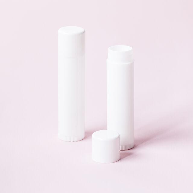 Lip Balm Tube - White