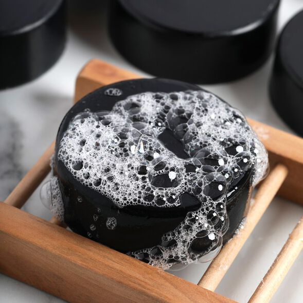 Charcoal Melt and Pour Soap Project