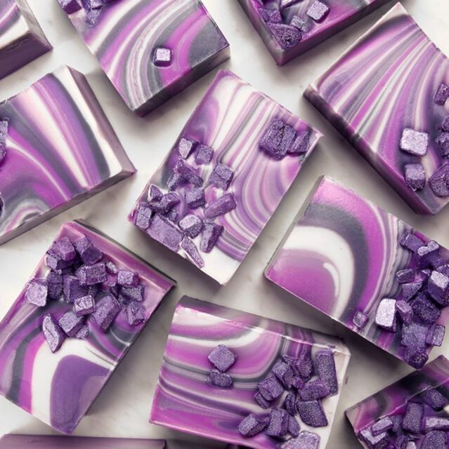 Agate Spin Swirl Soap Project
