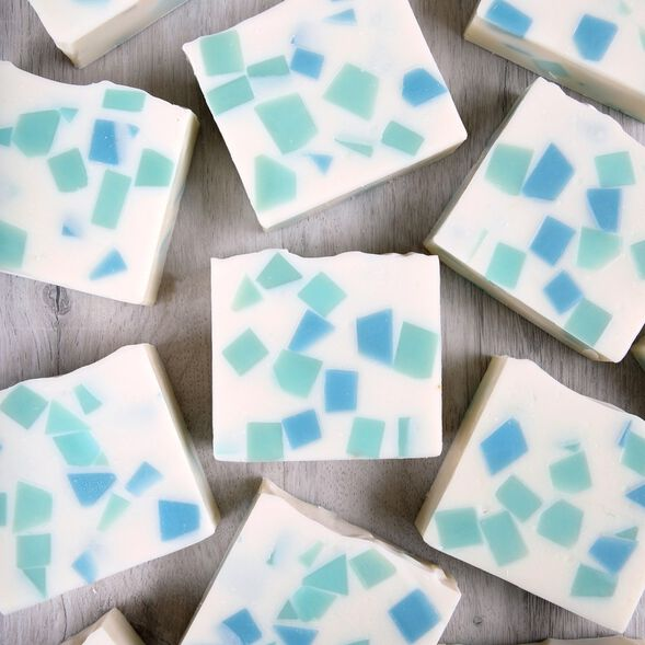 Chopped Embed Cold Process Soap Project