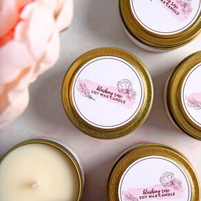 Blushing Rose Candle Kit