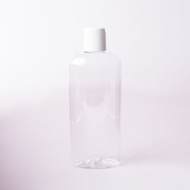8 oz Bottle with White Disc Cap