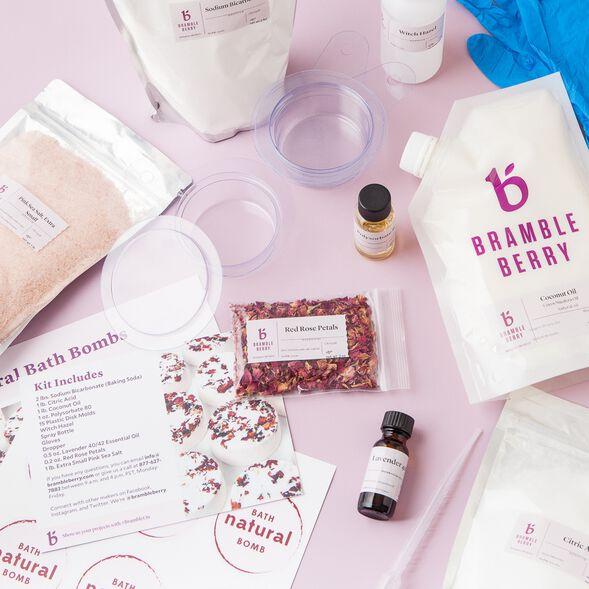 Natural Bath Bomb Kit
