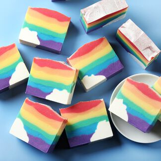 Classic Rainbow Soap Project