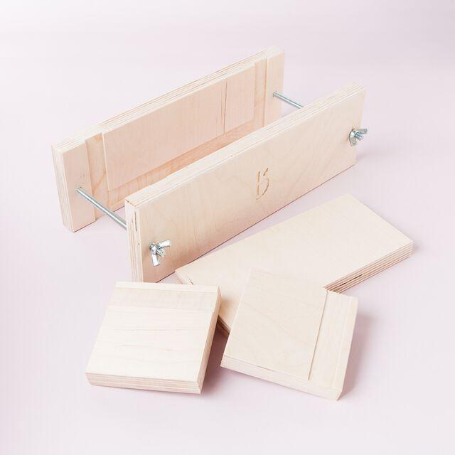 2 lb Wood Loaf Mold
