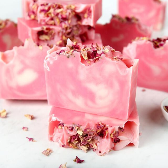 Wild Rose Soap Kit