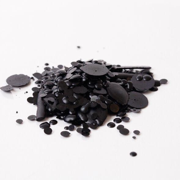 Charcoal Black Candle Dye Flakes