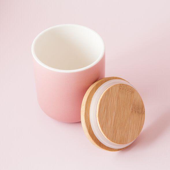 Blush Ceramic Jar - Small