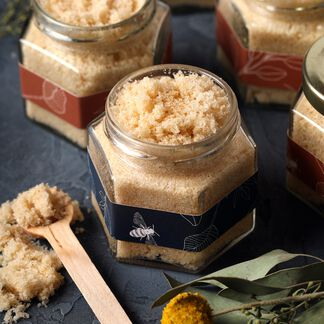 Lemon Honey Sugar Scrub Project