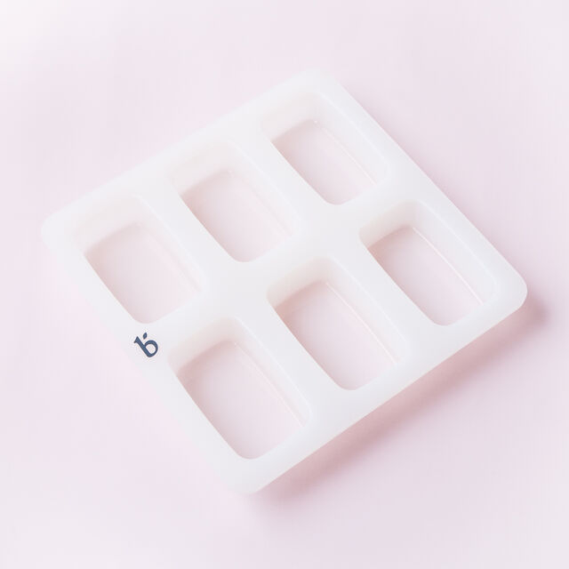 6 Cavity Silicone Rectangle Mold - 1 Mold