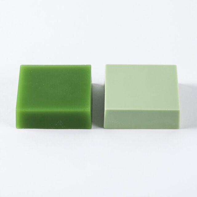 Green Chrome Color Block - 1 Block