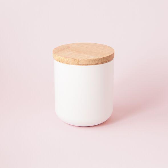 White Ceramic Jar - Small