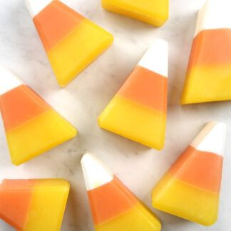 Candy Corn Soap Project