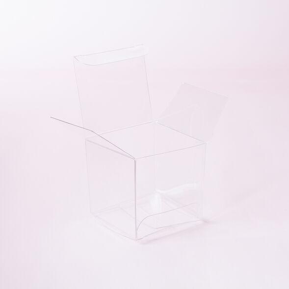 Clear Cube Box