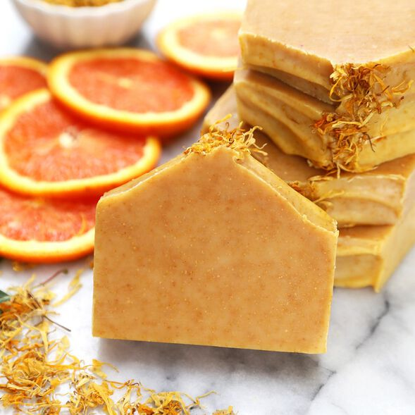 Natural Orange Soap Kit