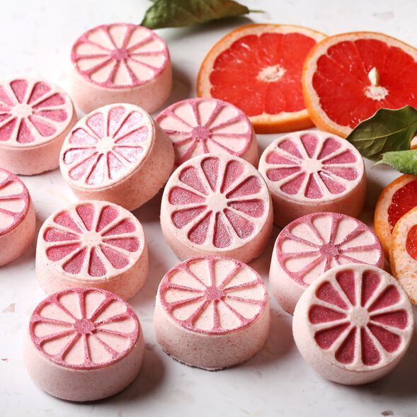 Pink Grapefruit Bath Bomb Project