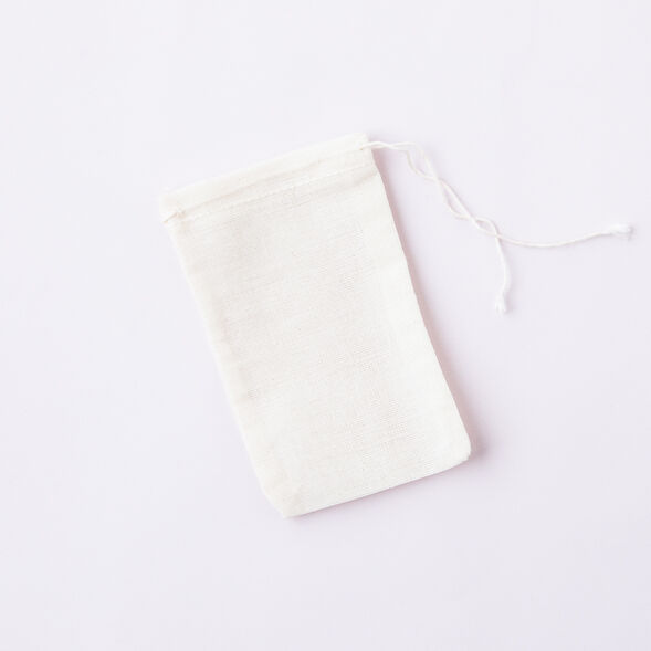 Muslin Herb Bag 3x5, 10 tea bags
