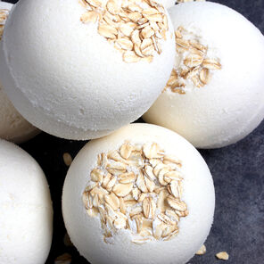 Oatmeal Bath Bomb Project