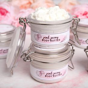 Pink Peony Body Butter Kit