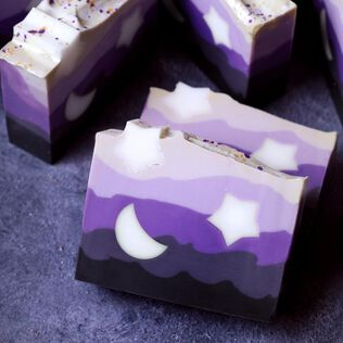 Night Sky Soap Project