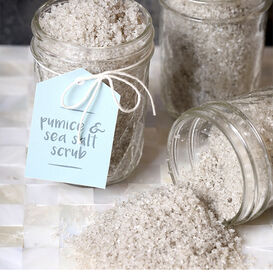 Pumice and Sea Salt Scrub Project