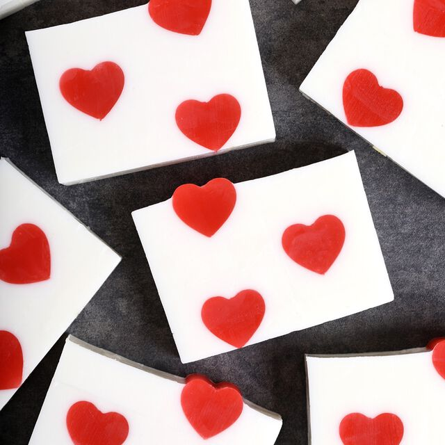 Classic Heart Melt & Pour Soap Project